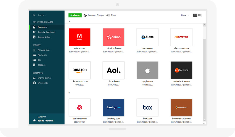 Password Manager - Securely manage your passwords | Dashlane