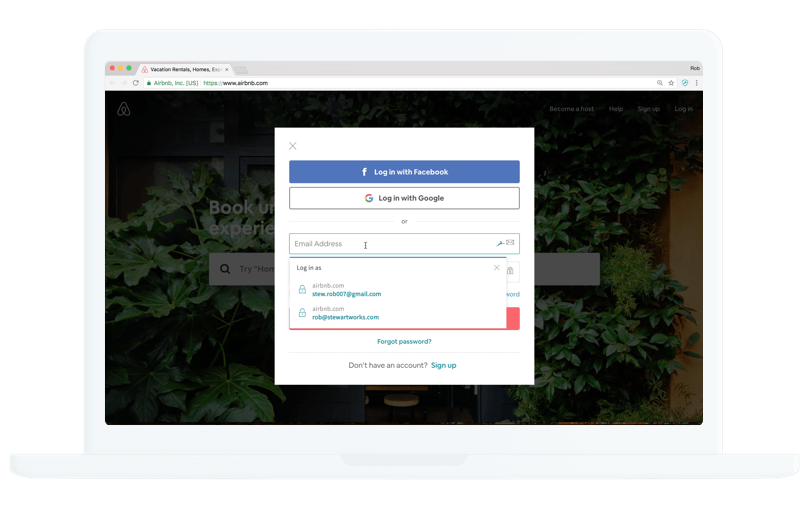 Opslag van wachtwoorden en automatisch invullen