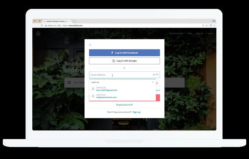 Compilazione automatica e archiviazione delle password
