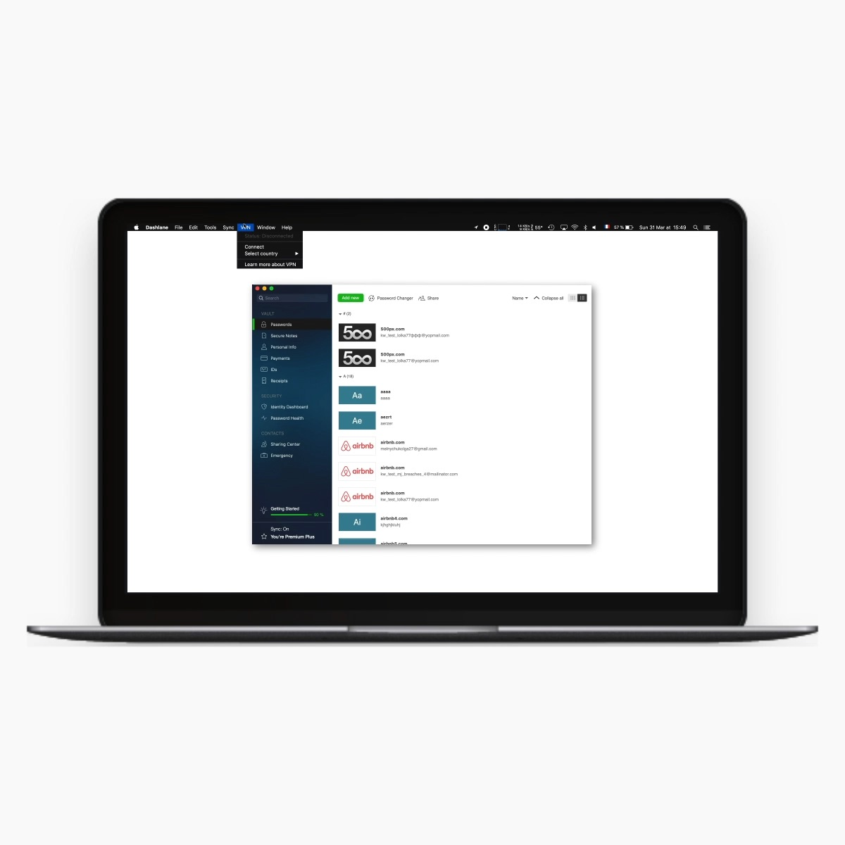 VPN for secure browsing | Dashlane