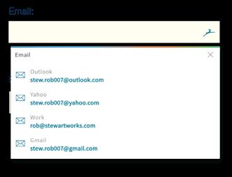 Vul automatisch wachtwoorden in via uw browser